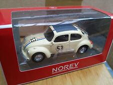 NOREV 319226  VW BEETLE Herbie diecast model rally car Number 53 1:64th scale