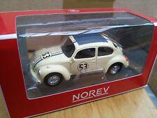 NOREV 319226  VW BEETLE Herbie diecast model rally car Number 53 1:64th scale