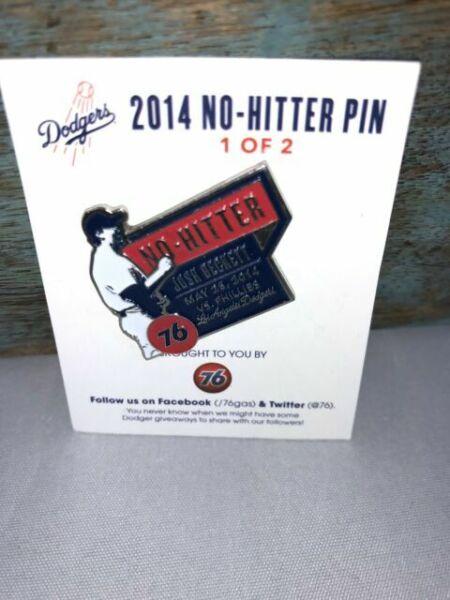 Details about  /LA Dodgers 10,000 Wins Pin /& Josh Beckett No Hitter Pin SGAs 6-4-14 9-1-14