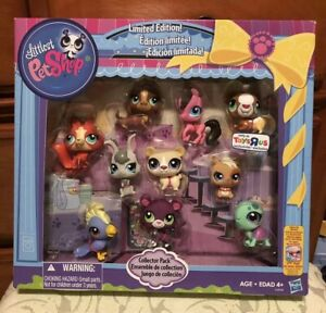 Littlest Pet Shop Limited Edition Collector 10 Pack Lps Toys R Us Exclusive New 653569888031 Ebay