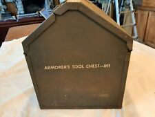 Vintage Antique Wwii M1 Armorers Chest Rare