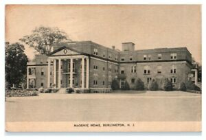 Masonic-Home-Burlington-NJ-Postcard-5A