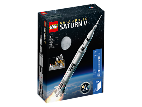 Brand Nuovo AUTHENTIC LEGO Ideas NASA Apollo Saturn V 21309 FACTORY SEALED