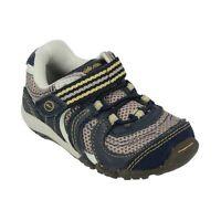Stride Rite Athletic Shoes Alec Navy Blue Pebble 4.5 M