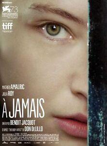 Affiche-120x160cm-A-JAMAIS-2016-Benoit-Jacquot-Amalric-Julia-Roy-NEUVE