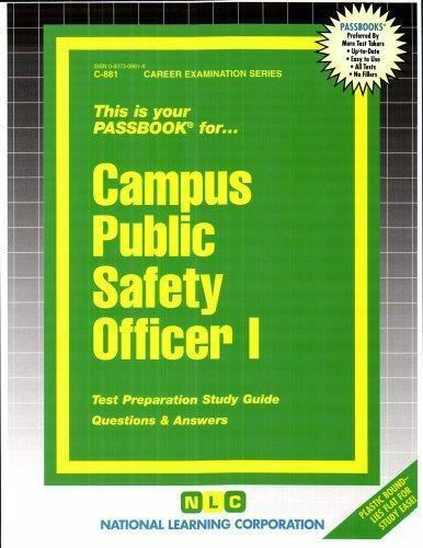 National Learning Corporation-Campus Public Safety Officer I BOOK NEW