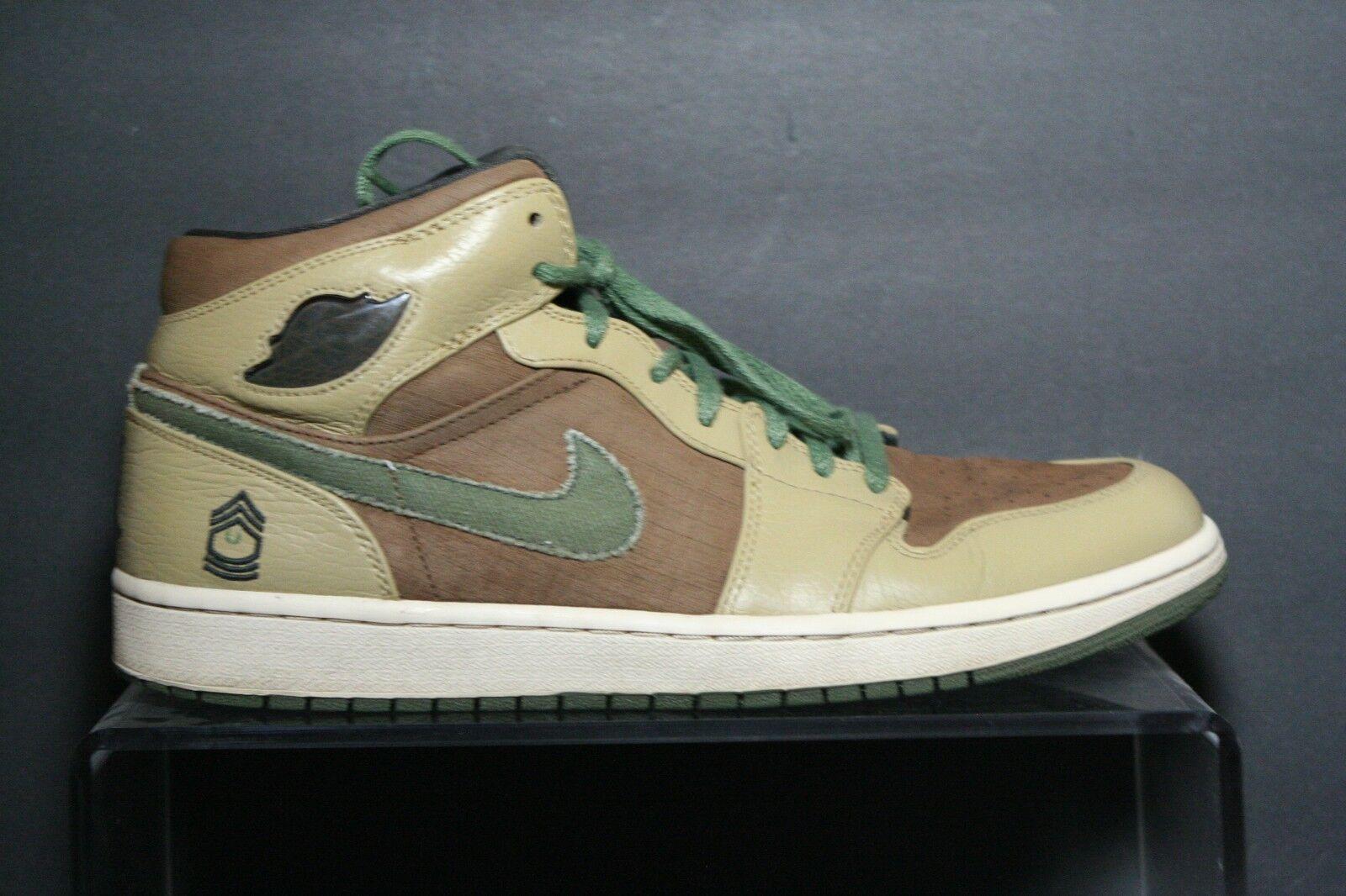 Nike Air Jordan Jordan Jordan 1 Retro Hi Armed Forces 2007 Multi Camo Men 12 Athletic B-Ball a1b104