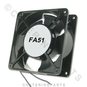 FA51-UNIVERSAL-240v-SQUARE-AXIAL-COOLING-FAN-MOTOR-120mm-x-120mm-x-38mm
