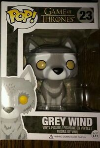Funko-Pop-Grey-Wind-Direwolf-Game-Of-Thrones-Vinyl-Figure