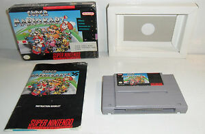 Super-Nintendo-Game-The-Original-SUPER-MARIO-KART-Complete-CIB-SNES-Fun-1
