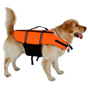 Pet-Dog-Life-Jacket-Clothes-Buoyancy-Float-Preserver-Large-Dog-Safe-Swim-Vests