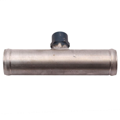 1x 35mm Car Inline Radiator Hose Connector 3//8 NPT Temperature Sensor Adapter