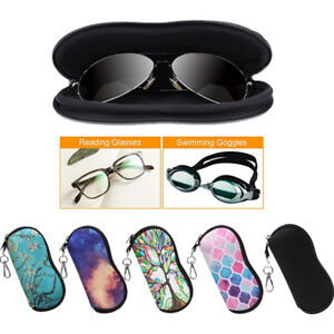 Eyeglasses-Case-Sunglasses-Case-Sleeve-Pouch-Soft-Travel-Bag-with-Carabiner-Hook