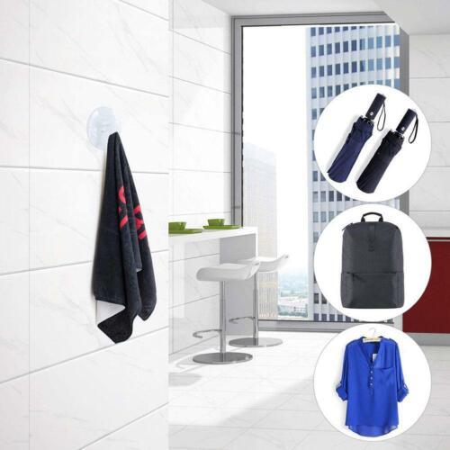 10x Suction Hooks Plastic Window Glass Suction Cups Bathroom Towel Kitchen Hooks