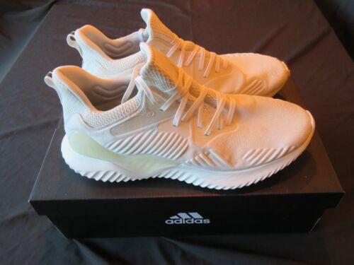 Barely Worn Hombre adidas Alphabounce Beyond M Crema Blanco Atletismo Zapatos 12