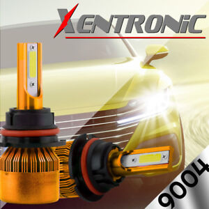XENTRONIC-LED-HID-Headlight-kit-9004-HB1-White-for-1986-1991-Volkswagen-Vanagon
