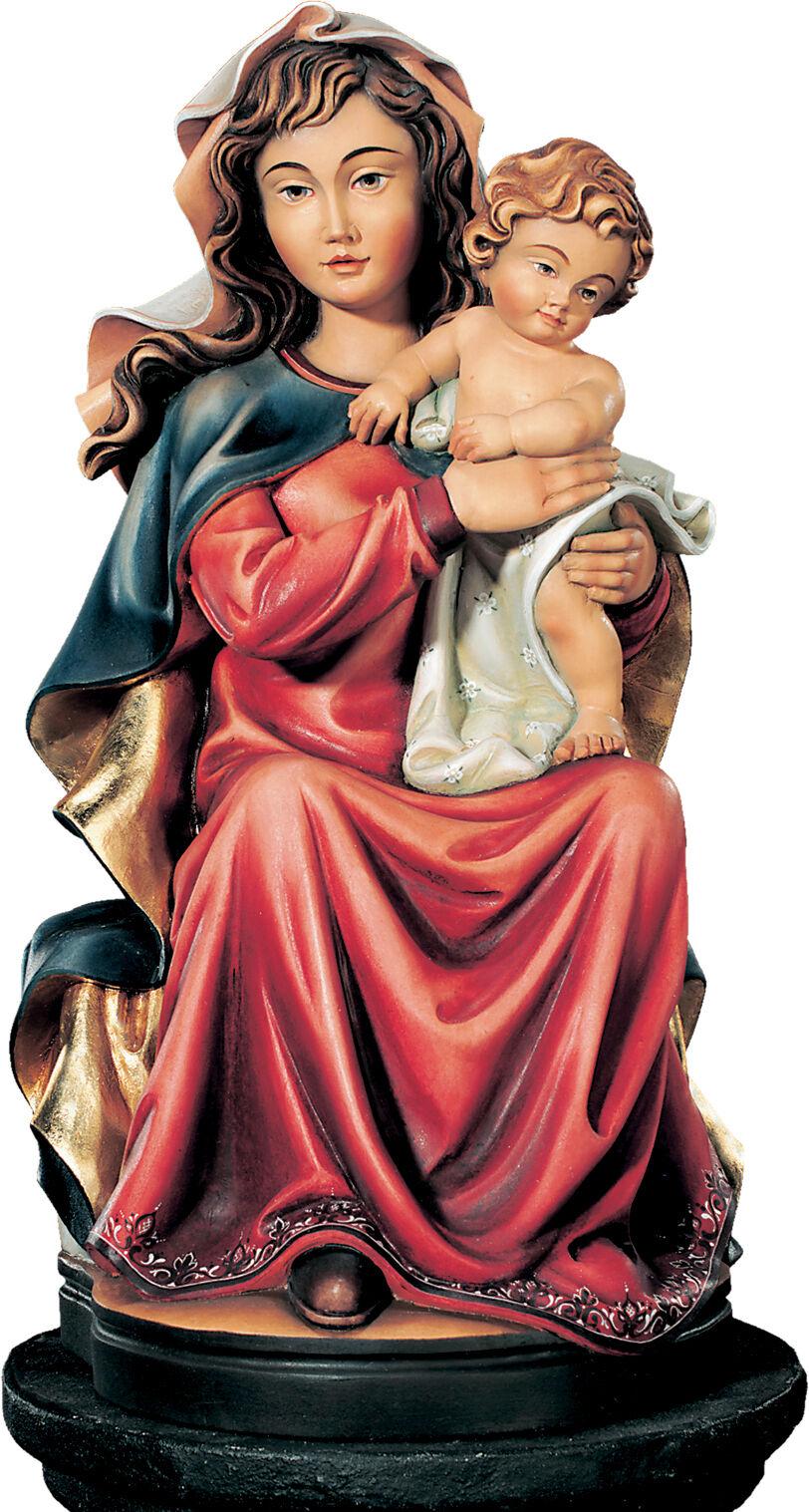 Statue Madamen sitzend sitzend sitzend mit Kind - Unsere Lady sitting with Kind wooden Statuen | Schön und charmant  eeaaf3