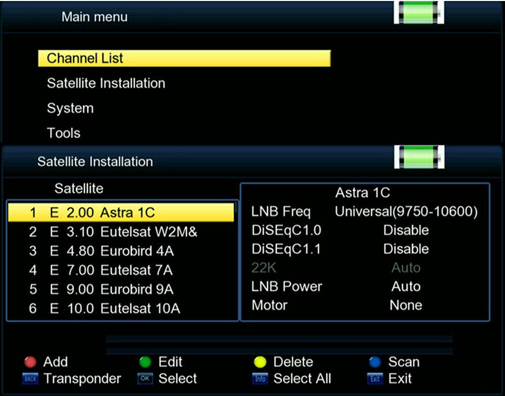V8 Finder Digital 3 5 inch Satellite Signal Finder 1080P HD Satellite  Detector