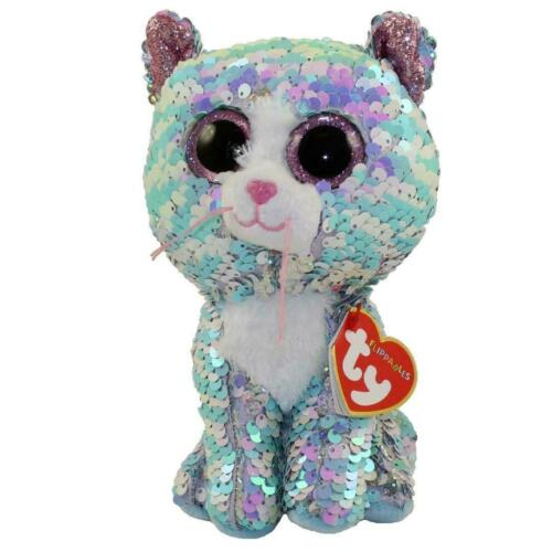 "2019 Ty 6/"" Flippables 6/"" WHIMSY Cat Beanie Boo Color Changing Sequin Plush MWMTs"