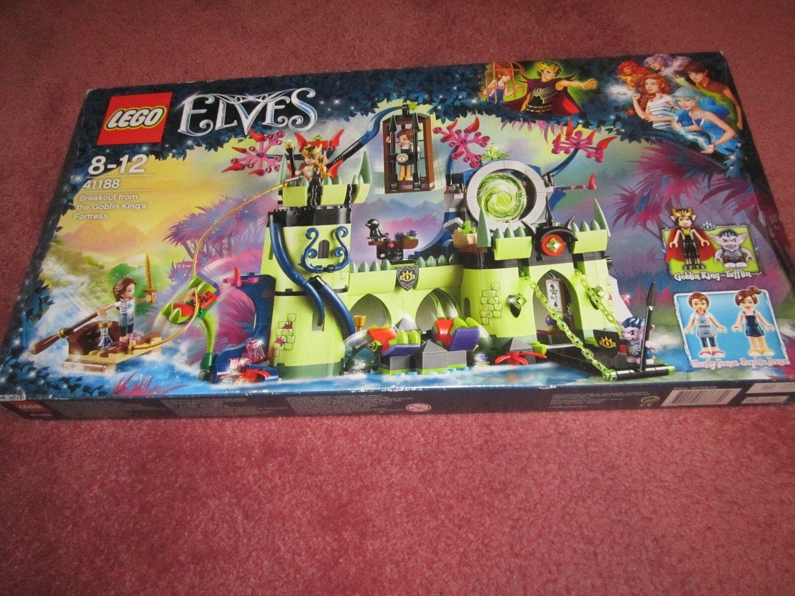LEGO Elfi Breakout dal  Re Goblin'S FORTEZZA 41188-vedi foto-NUOVO  promozioni eccitanti