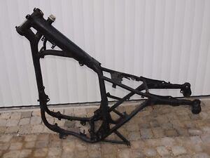 Rahmen-mit-Brief-frame-Yamaha-SR-500-2J4