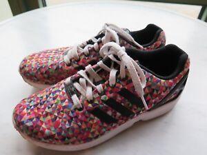 Details about Adidas ZX Flux Torsion multicolor Men's Running shoe Size 8  S81604