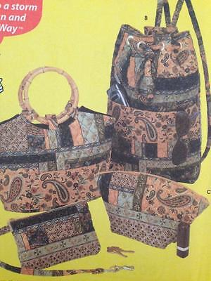 Simplicity Sewing Pattern 5076 Four Styles Bags Uncut Dummies