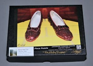 Wizard-of-Oz-034-RED-RUBY-SLIPPERS-034-Puzzle-NEW-Autographed-Numbered-Judy-Garland