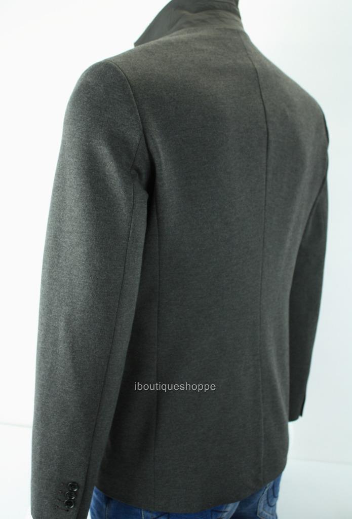 Armani Exchange A 2 X Herren Essential Ponte 2 A Button Blazer Button Front NWT  200 beb938