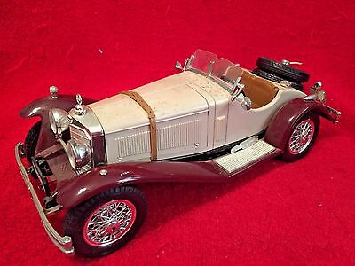 URAGO 1928 MERCEDES BENZ SSK CONVERTIBLE  MODEL TOY CAR