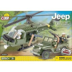 Cobi-Small-Army-Jeep-Willys-MB-with-Helicopter-24254