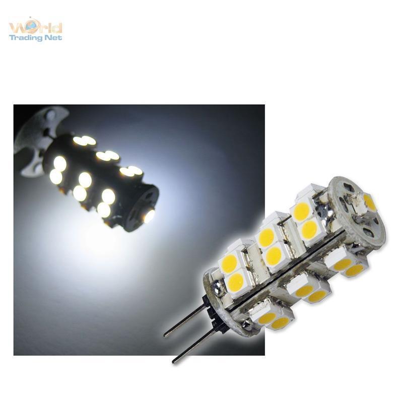 5 x LED - lampada pin G4, 25 SMD LED luce del giorno
