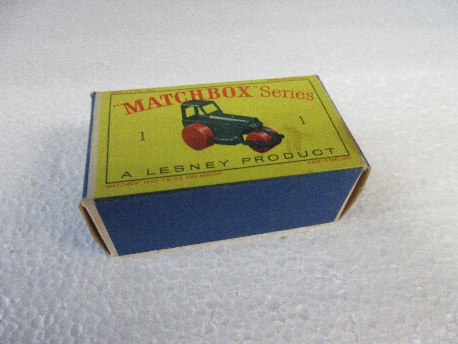Los mejores precios y los estilos más frescos. Matchbox Matchbox Matchbox Series  1 Diesel apisonadora  Felices compras