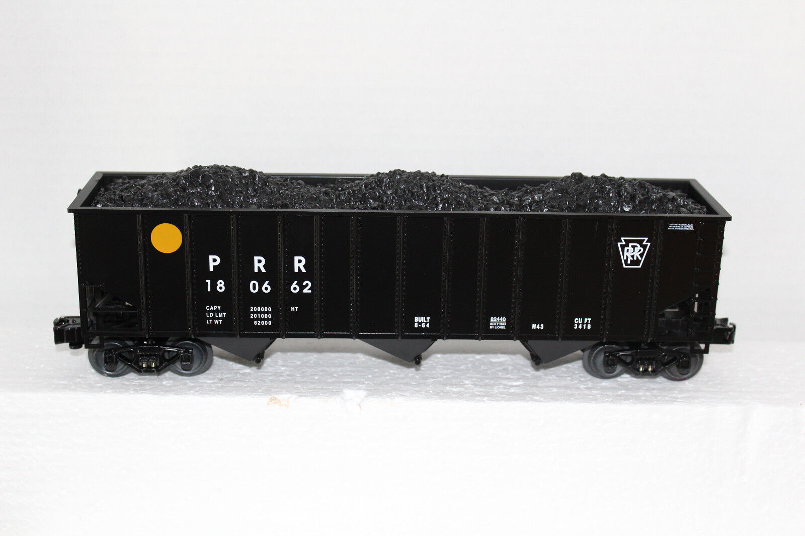 Lionel  82440 Pennsylvania  Hopper Car with Coal Load insert from Keystone Set