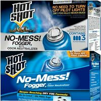 Insect Fogger 3-pack Bug Bomb Kill Mosquitoes Spiders Fleas Flies Killer No Mess