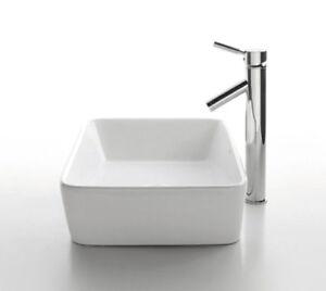 Kraus-C-KCV-121-1002SN-White-Rectangular-Ceramic-Sink-and-Sheven-Faucet-Satin