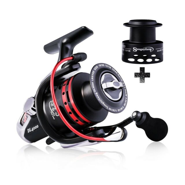 Mounchain Spinning Reel Ultra Light Weight Smooth Fishing Reels Powerful Carbon