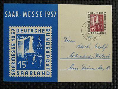 Neuartige Designs Saar Mk 1957 400 Saarmesse Maximumkarte Carte Maximum Card Mc Cm C1628 BerüHmt FüR AusgewäHlte Materialien Herrliche Farben Und Exquisite Verarbeitung