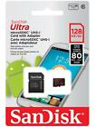 SanDisk Ultra 128GB Micro SDXC SD XC Micro SD Class 10 80MB/s Memory Card NEW