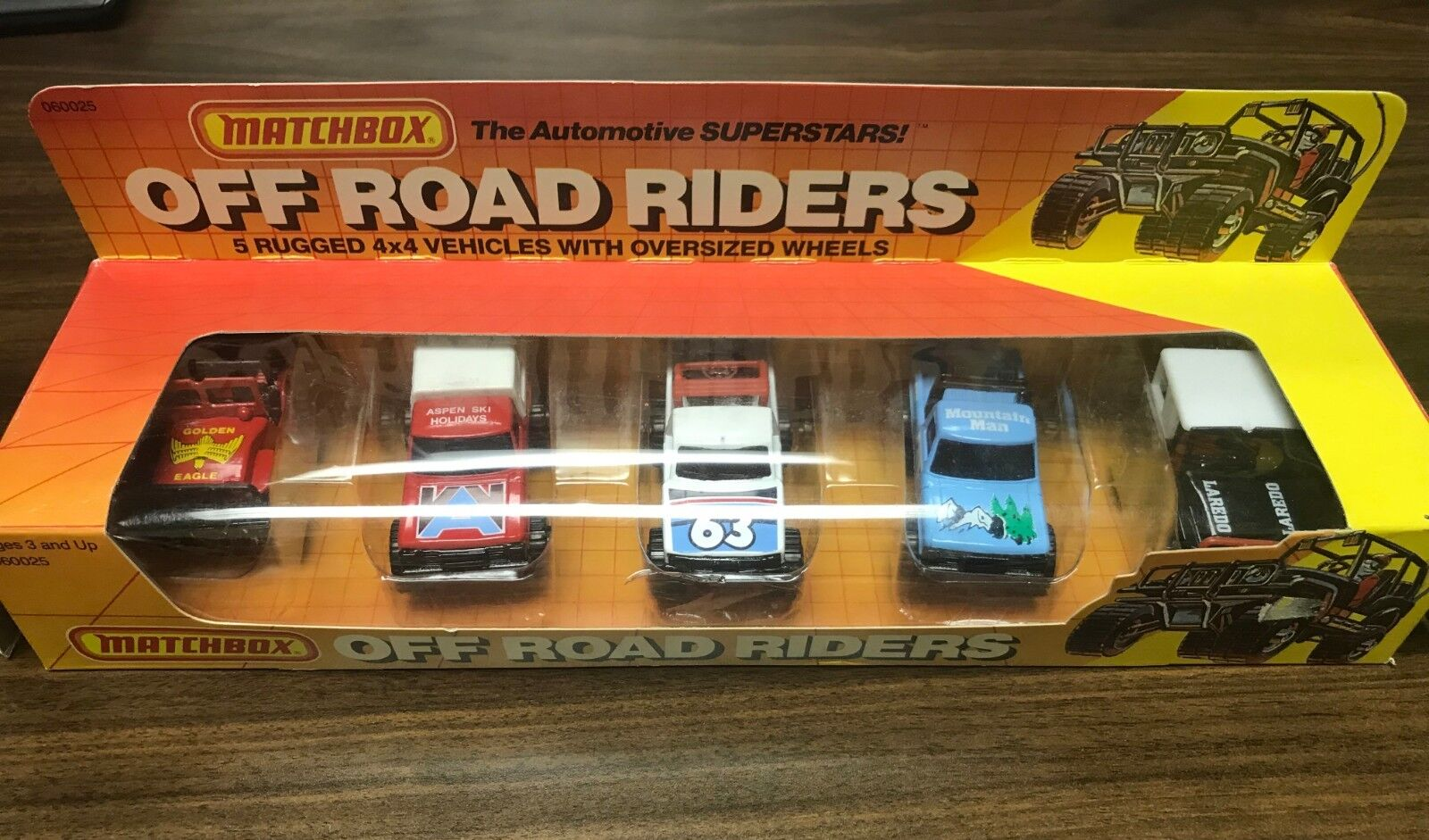 Matchbox Off Road Riders Big Foot Mini Camper