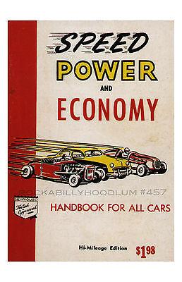 Poster & Bilder Neu Hot Rod Plakat 11x17 Speed Strom Und Wirtschaft Handbook Für Drag Racing Accessoires & Fanartikel