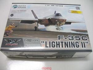 Kitty-Hawk-80132-1-48-F-35C-034-Lightning-II-034-New-Hot