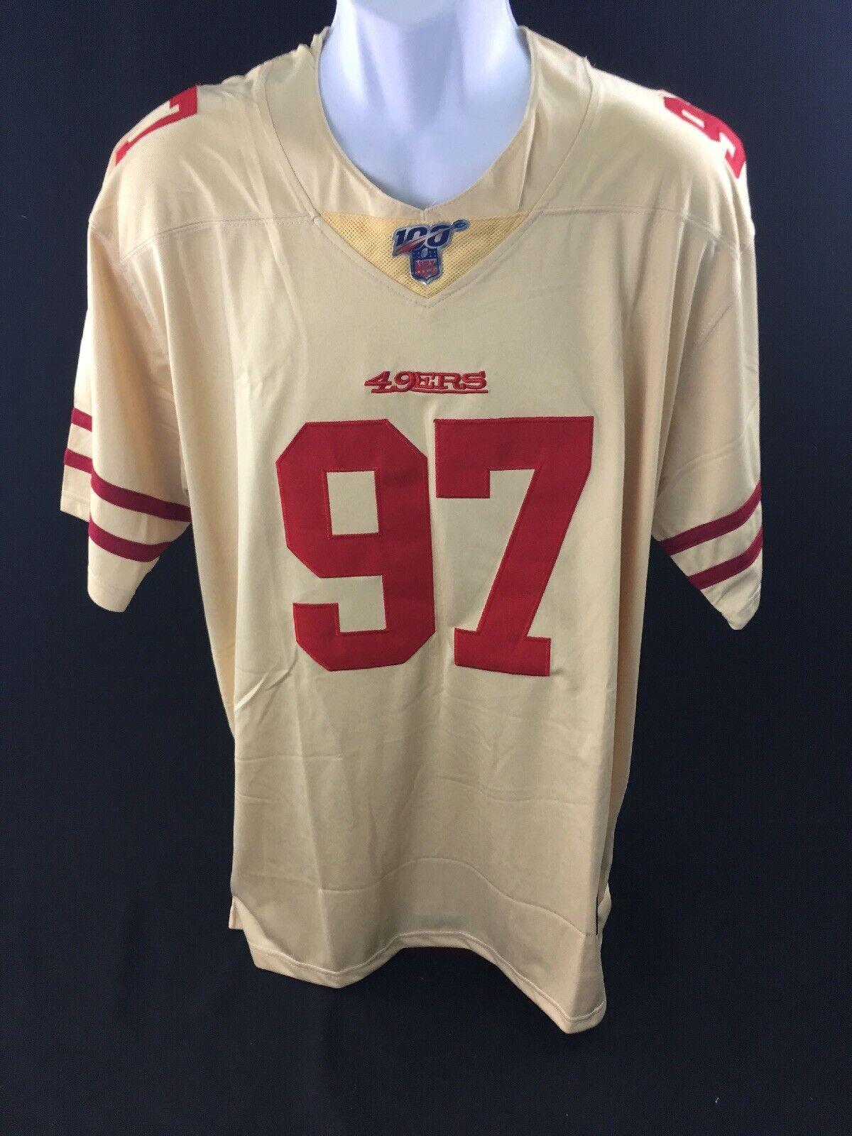 Nick Bossa # 97 San Francisco 49ers NFL Jersey Size Extra Large - XL