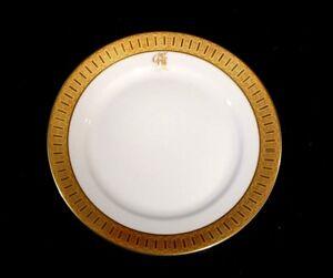 Stunning-Rosenthal-Selb-Plossberg-Gold-Encrusted-Aida-Bread-Plate