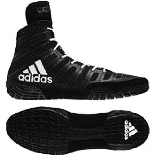 hot sale online f9f94 d9d89 adidas Adizero Wrestling XIV Shoes - Black white black Mens 11.5 M US for  sale online   eBay