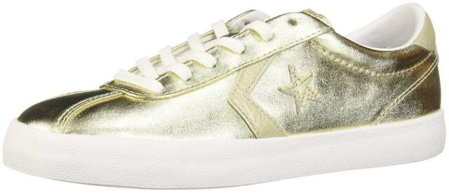 Details zu Converse Breakpoint ox light gold Damen Sneaker im Metallic Look