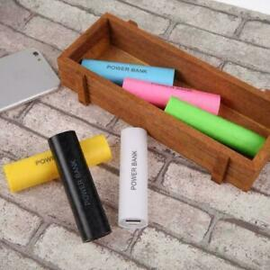 Móvil Portátil USB Power Bank Cargador Pack Caja