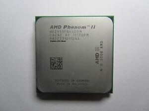 Amd Phenom Ii X4 955 Black Edition 3 2ghz 8m 4 Core Socket Am2 Am3 125w Cpu 706693016983 Ebay