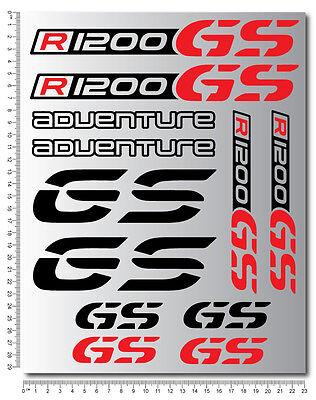 R1200GS Adventure profi aufkleber set sticker decals bmw Motorrad gs