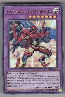 SDHS-DE001 Elementar-HELD Schattennebel Super Rare Yu-Gi-Oh Neu